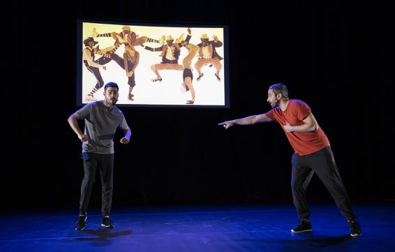 Guille Vidal-Ribas and Javi Casado - Transmissions: Illustrated talk on the subject of urban dances