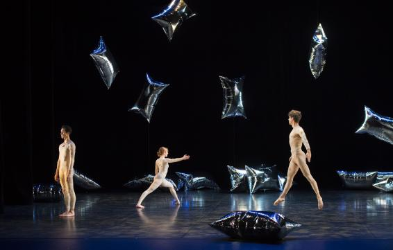 Ballet de Lorraine - Programa Cunningham: For Four Walls, Rain Forest y Sounddance